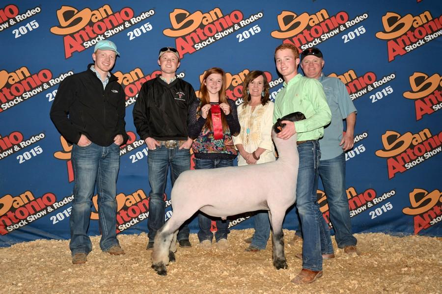 War Whoop Online : Seniors place at San Antonio stock show