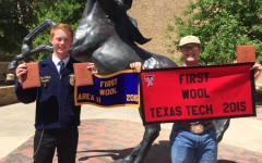 STATE CHAMPS: FFA wool evaluation team wins