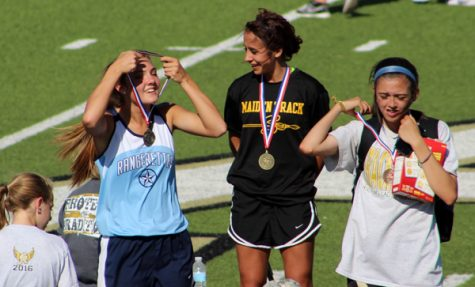 Maiden track qualifies eight athletes for area