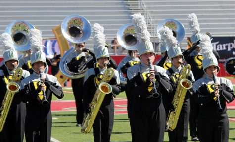The Pride of the Tribe to compete in region marching contest Saturday