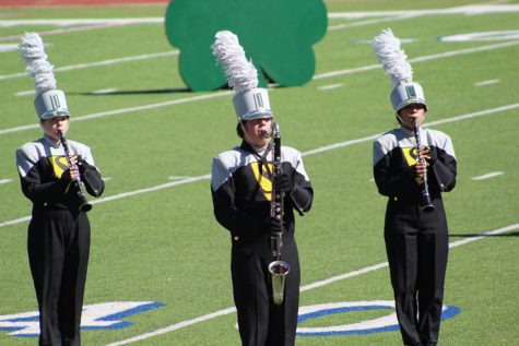 Pride of the Tribe takes ninth in area marching contest