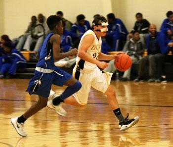 JV men's basketball travel to Brownfield