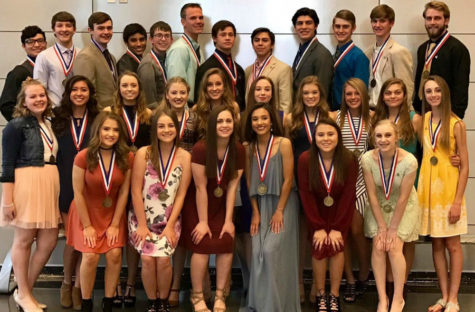 One-act play qualifies for state in first phase of academic regional contests