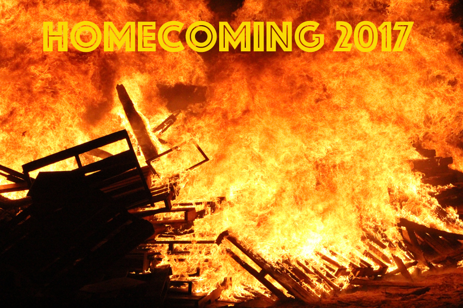 Blazing+spirit--%0AThe+homecoming+bonfire+took+place+on+Sept.+21.