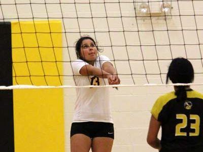 JV black volleyball stays undefeated in district play