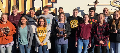 Academic team takes second at Red Raider Classic