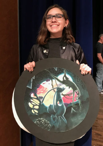 Junior qualifies for state with art project