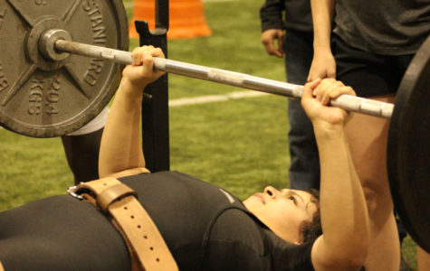Maiden powerlifter qualifies for state competition