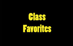 Classes select their favorites