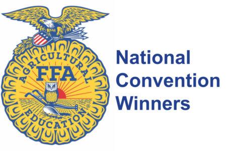 FFA trio takes awards at nationals