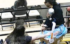 Child development classes learn about being a 'parent'