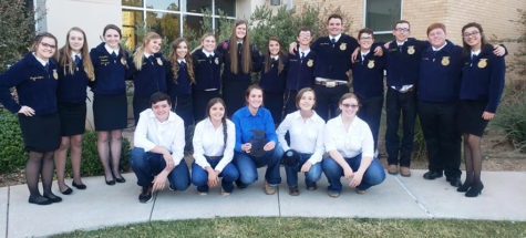 Senior quiz team eighth at FFA state contest