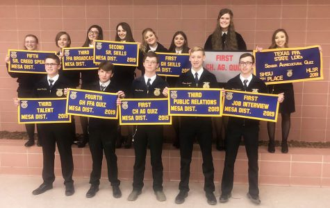 Senior quiz team eighth at FFA state contest