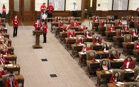 SkillsUSA members attend legislative day at state capitol