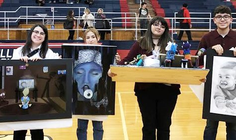 Four artists advance to state VASE