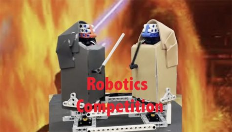 Robotics team competes in whirligig competition