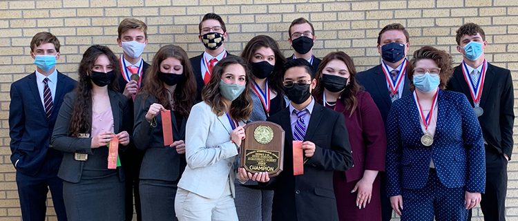 UIL academics takes second in district