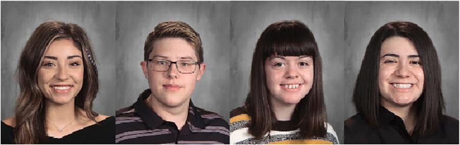 All-state journalism staff--Four senior staff members qualified for the all-state journalism staff--senior Co-Editor-in-Chief Aaliyah Booth, senior Op-Ed Editor Bradley Everett, senior Co-Editor-in-Chief Robin Franklin and senior The BEAT Editor Sydney Gonzales.